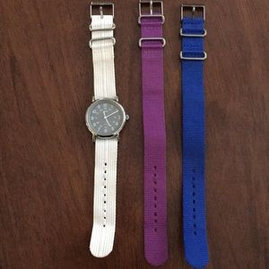 Timex weekender watch and 3 bands, unisex, 38mm